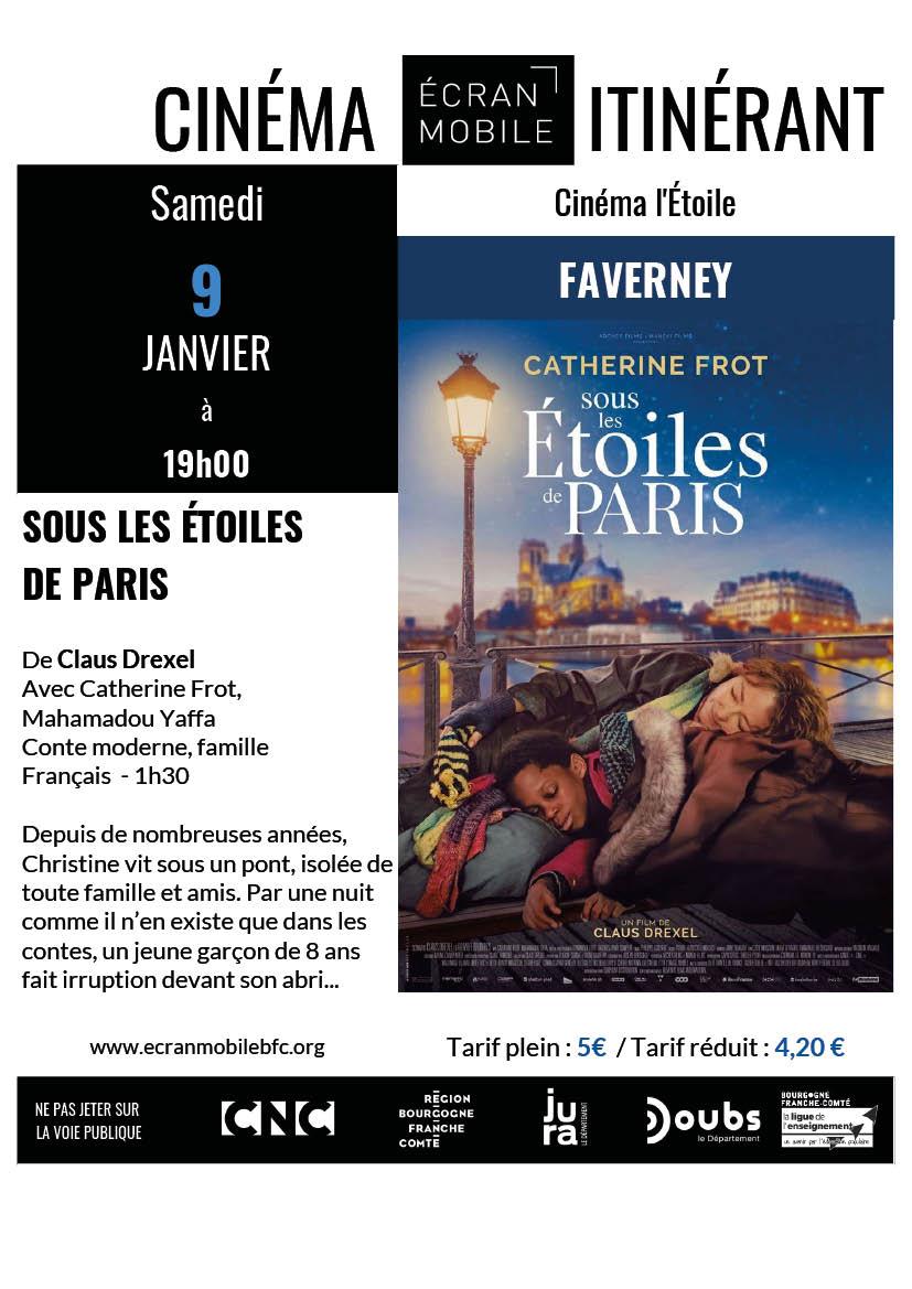 SOUS LES ETOILES PARIS